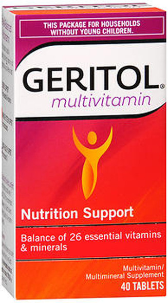 Geritol Complete Multivitamin Tablets - 40 Ct