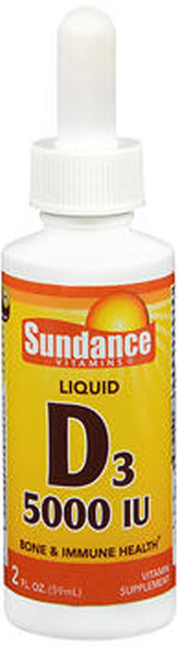 Sundance Vitamins D3 5000 IU Liquid - 2 oz