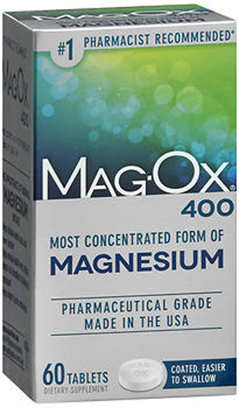 Mag-Ox 400 Magnesium Tablets - 60 ct
