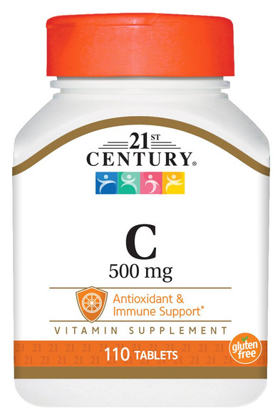 21st Century C-500 Tablets - 110 ct