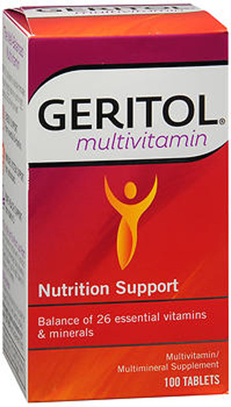 Geritol Multivitamin Tablets - 100 ct