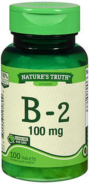 Nature's Truth B-2 100 mg - 100 Tablets