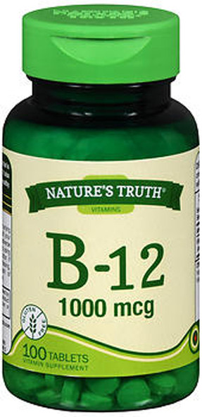 Nature's Truth B-12 1000 mcg - 100 Tablets