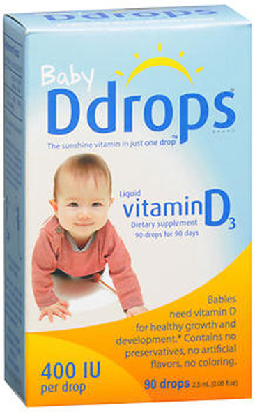 Ddrops Baby Liquid D3 400 IU - 2.5ml