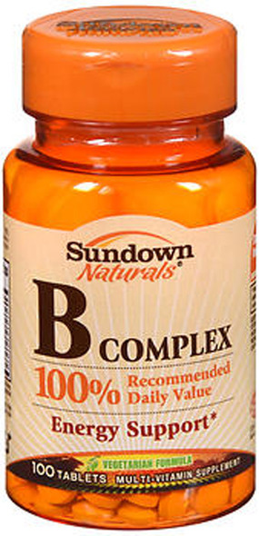 Sundown Naturals B Complex Tablets - 100 ct
