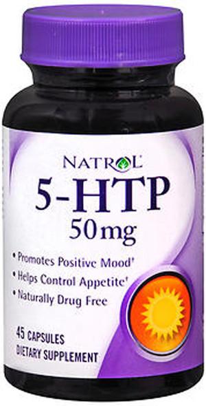Natrol 5-HTP 50 mg Capsules - 45 ct