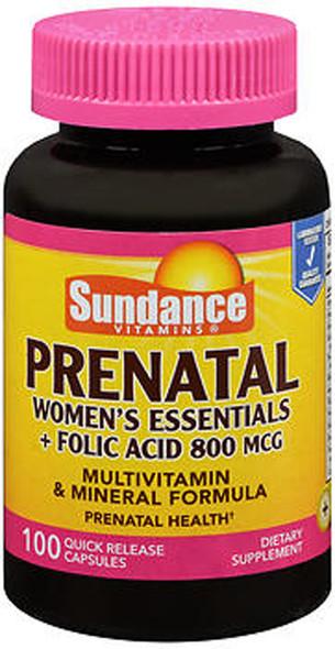 Sundance Prenatal Quick Release - 100 Capsules