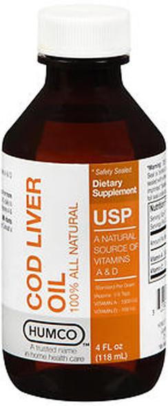 Humco Cod Liver Oil - 4 oz