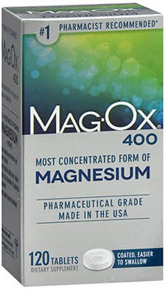 Mag-Ox 400 Magnesium Supplement - 120 Tablets