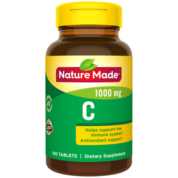 Nature Made Vitamin C 1000 mg Tablets - 100 ct
