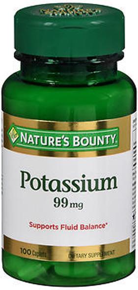 Nature's Bounty Potassium 99 mg - 100 Caplets