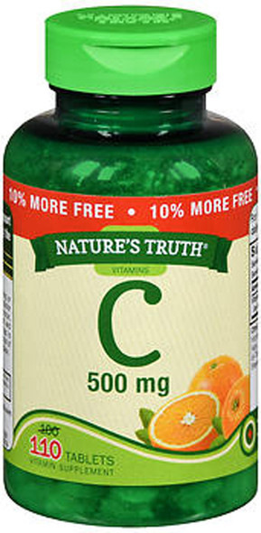 Nature's Truth C 500 mg - 110 Tablets