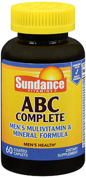 Sundance ABC Complete Men's Multivitamin & Mineral Formula - 60 Coated Caplets