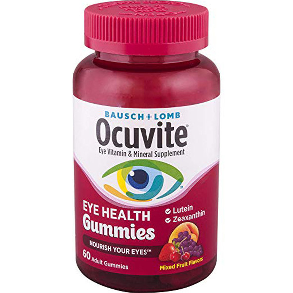 Bausch + Lomb Ocuvite Eye Health Gummies - 60 ct