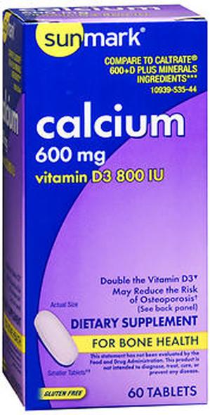 Caltrate 600+D Plus Minerals - 60 Tablets