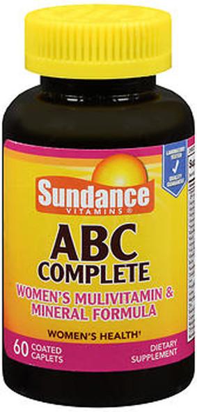 Sundance ABC Complete Women's Multivitamin & Mineral Formula - 60 Coated Caplets
