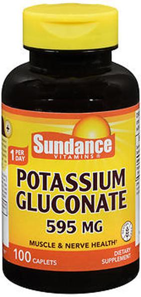 Sundance Vitamins Potassium Gluconate 595 mg 100 Caplets