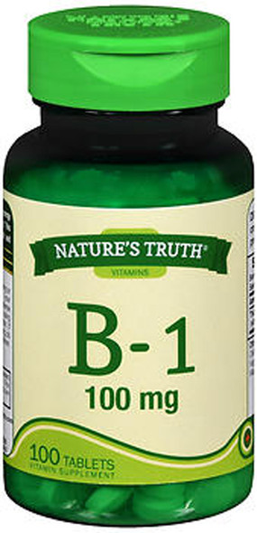 Nature's Truth B-1 100 mg - 100 Tablets