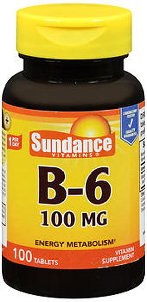 Sundance B-6 100 mg - 100 Tablets
