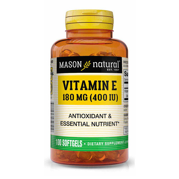 Mason Natural E 400 IU - 100 Softgels
