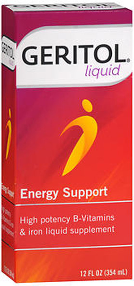 Geritol Energy Support Liquid - 12 oz