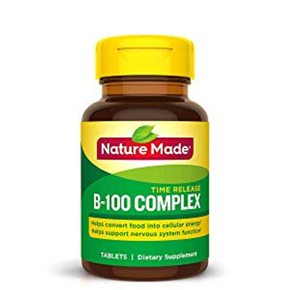 Nature Made Vitamin B-100 Complex - 60 Tablets