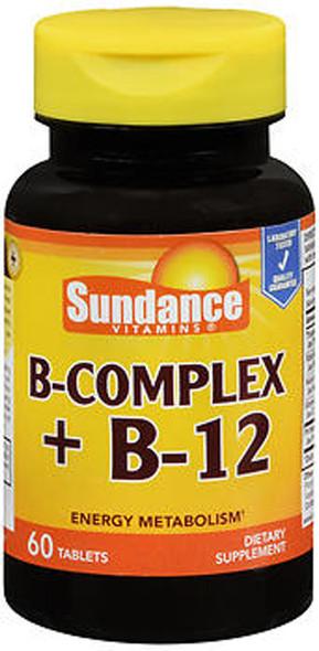 Sundance Vitamins B-Complex + B-12 - 60 Tablets