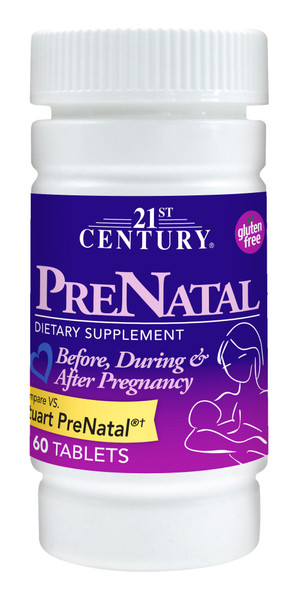 21st Century PreNatal Dietary Supplement Tablets - 60 ct
