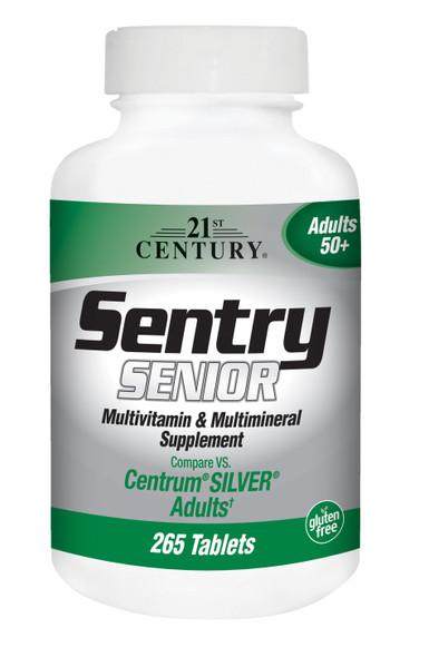 21st Century Sentry Senior Tablets - 265 ct