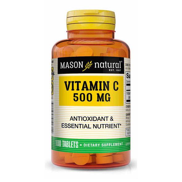 Mason Natural Vitamin C 500 mg - 100 Tablets