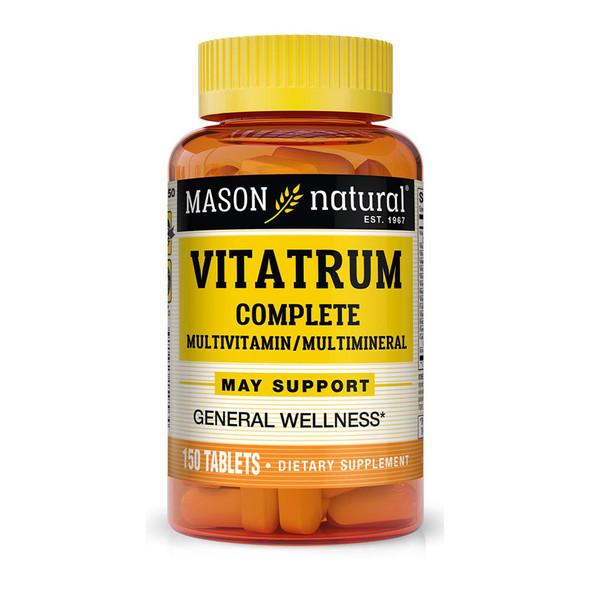 Mason Natural VitaTRUM Complete Multivitamin & Multimineral - 150 Tablets