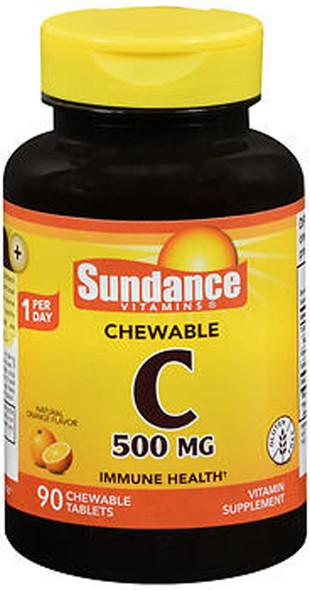 Sundance Vitamins Vitamin C 500 mg Natural Orange Flavor - 90 Chewables