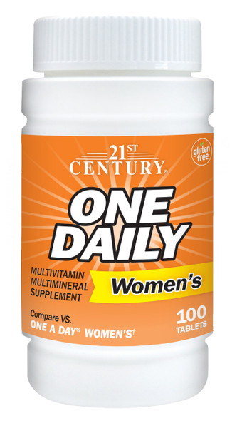 21st Century Women's One Daily Multivitamin Multimineral Supplement Tablets - 100ct