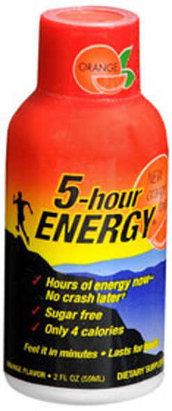 5-Hour Energy Liquid Energy Shot Orange - 2 oz