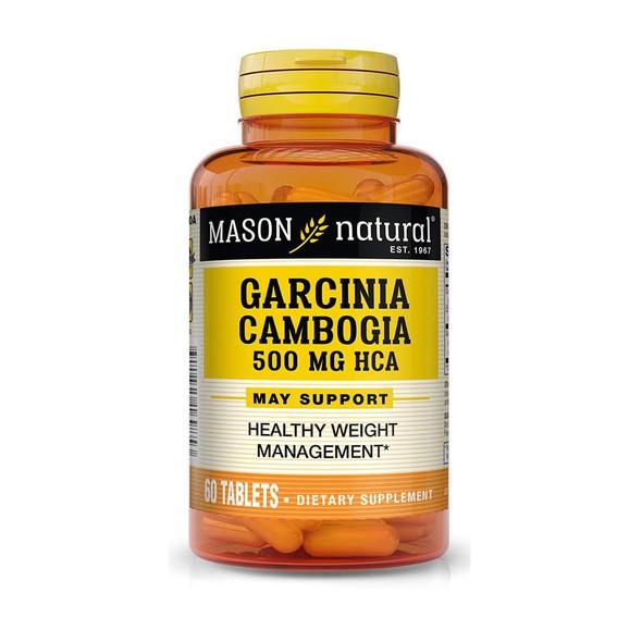 Mason Natural Garcinia Cambogia 500 mg Tablets - 60 Tablets