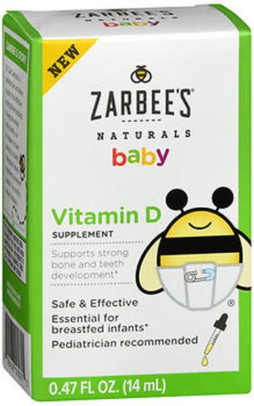 Zarbee's Baby Vitamin D - .47 oz