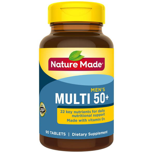Nature Made Multi For Him 50+ - 90Tablets