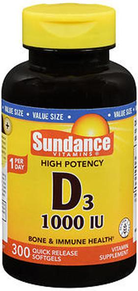 Sundance D3 1000 IU Quick Release - 300 Softgels