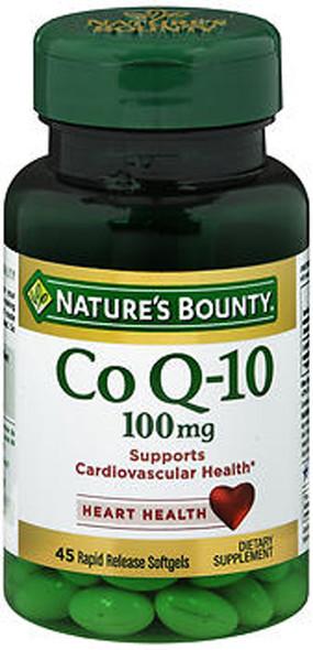 Nature's Bounty Q-Sorb Co Q-10 100 mg Softgels - 30 ct