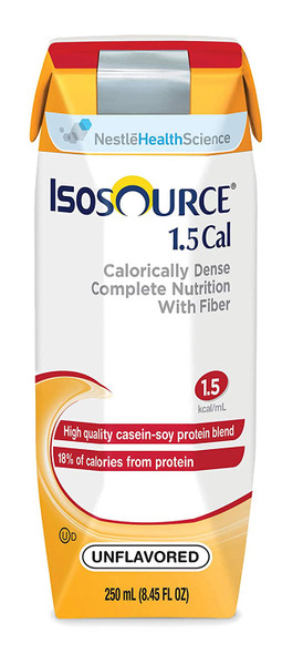 Isosource 1.5 High Calorie and Nitrogen Vanilla, 24-8.45 oz