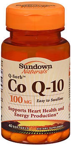 Sundown Naturals Co Q-10 100mg - 40 Softgels
