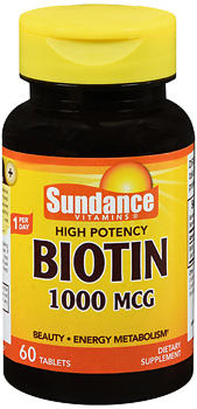 Sundance Biotin 1000 mcg - 60 Tablets