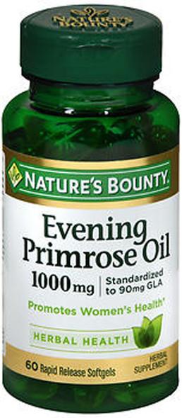 Nature's Bounty Evening Primrose Oil 1000 mg - 60 Softgels