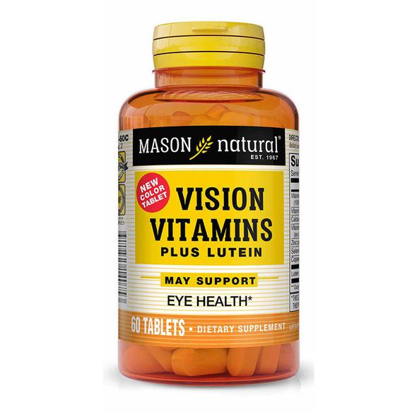 Mason Natural Vision Vitamins Plus Lutein Tablets - 60ct