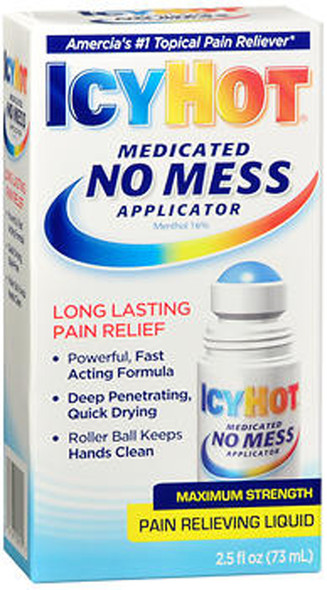 Icy Hot Maximum Strength Pain Relieving Gel Roll On - 2.5 oz