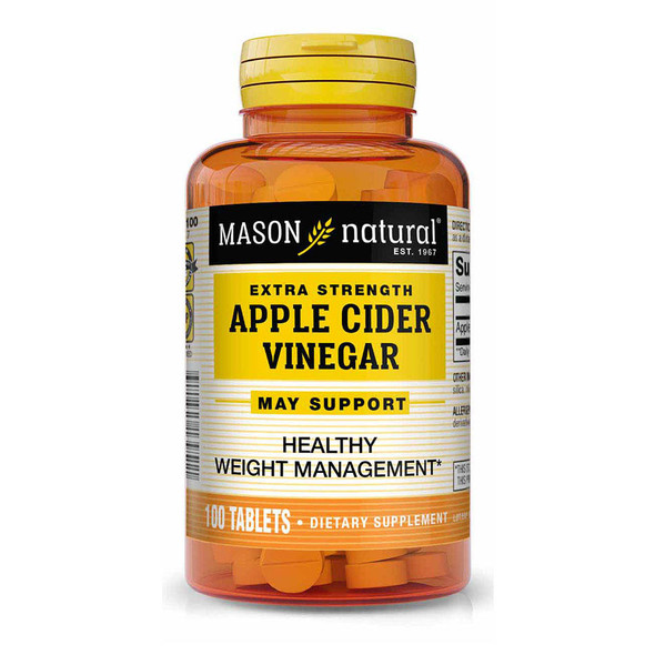 Mason Natural BodyShapers Apple Cider Vinegar Tablets - 100 ct