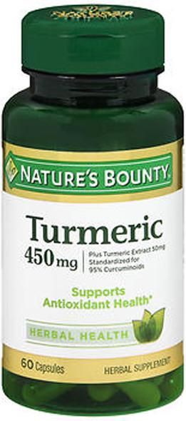 Nature's Bounty Turmeric 450 mg Capsules - 60 ct