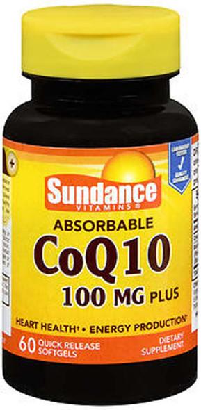 Sundance Vitamins CoQ10 100 mg Plus 60 Softgels