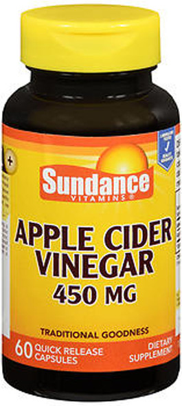 Sundance Apple Cider Vinegar 450 mg - 60 Quick Release Capsules
