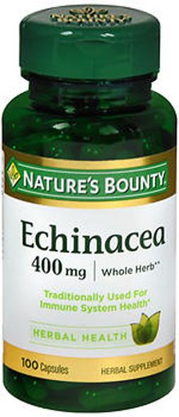 Nature's Bounty Echinacea 400 mg Capsules - 100 ct